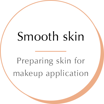 Smooth skin - Preparing skin for makeup application